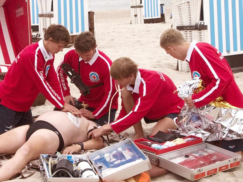 Rettungsschwimmereinsatz